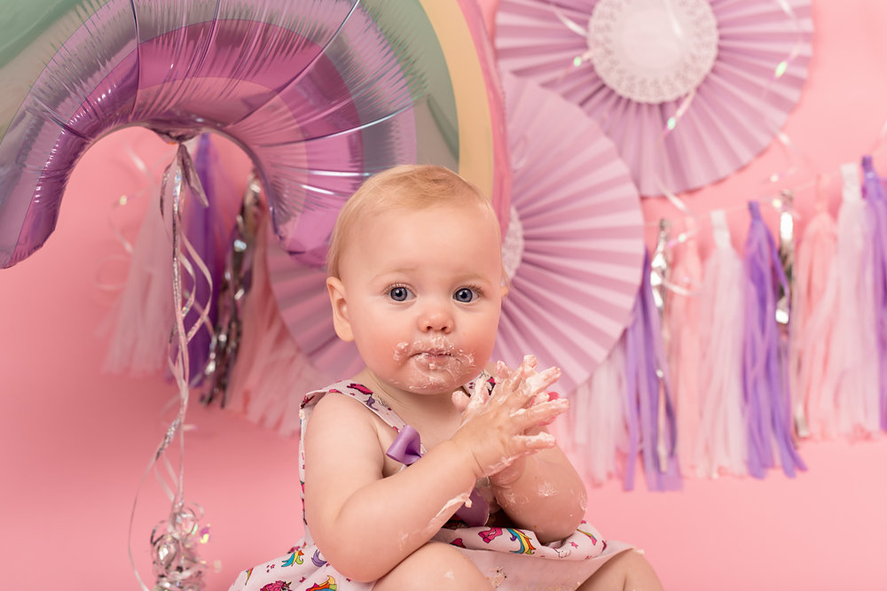 Cake smash photography, Taunton, Wellington, somerset..jpg