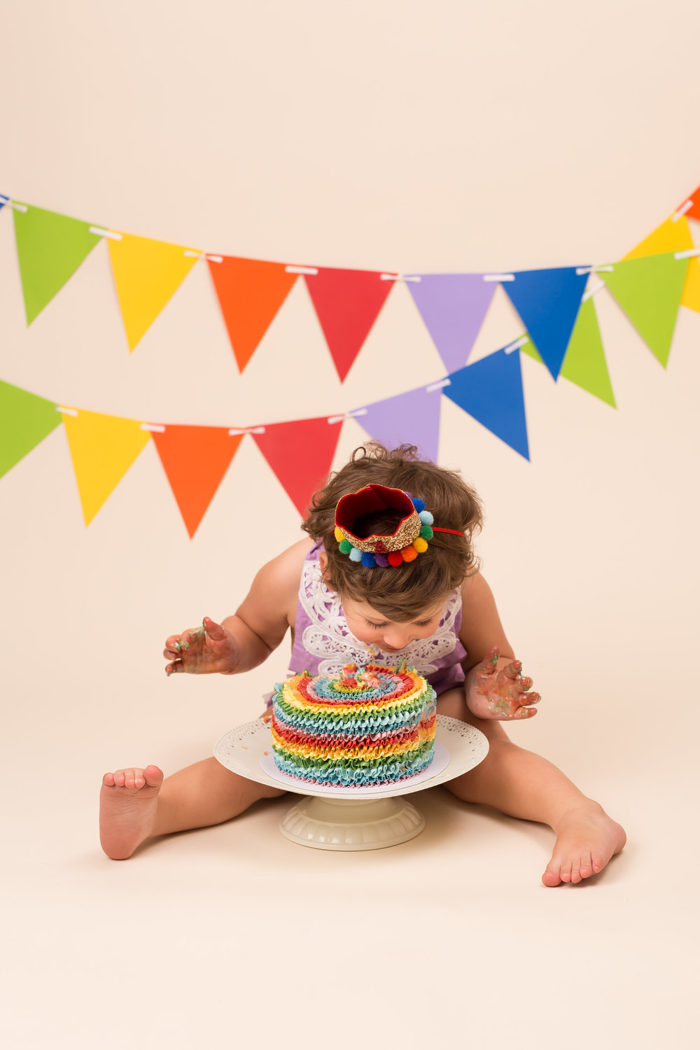 Cake smash photography - Wellington, Taunton, Somerset.jpg