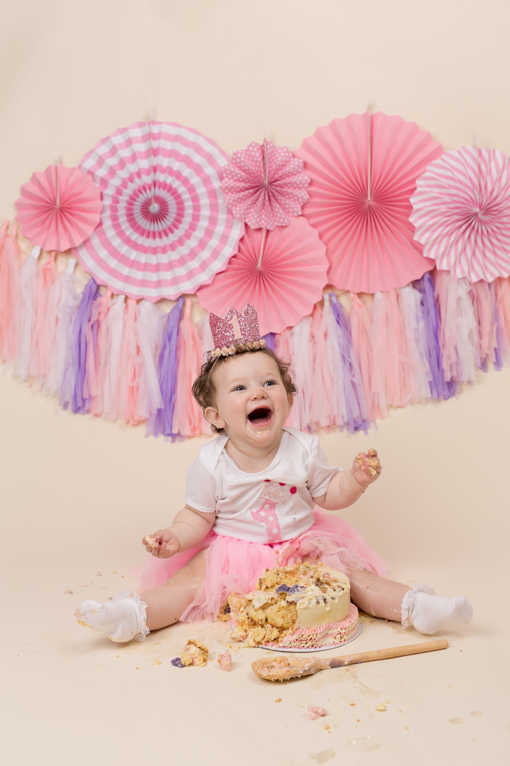 Cake smash photography, Wellington, Somerset..jpg