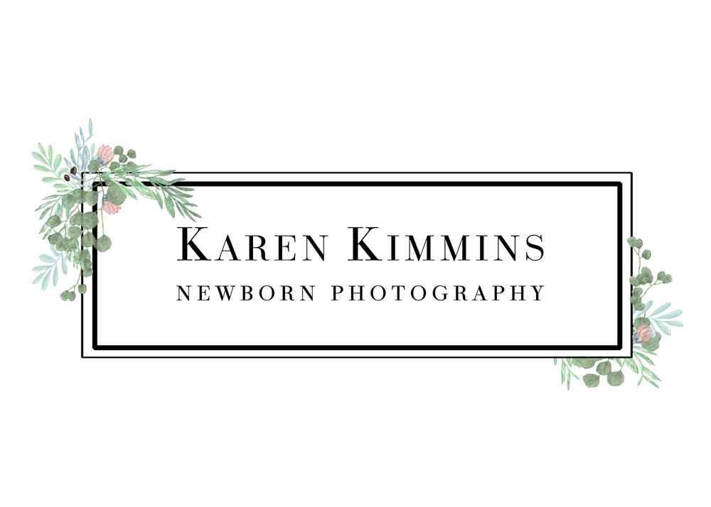 Karen Kimmins Newborn Photography logo