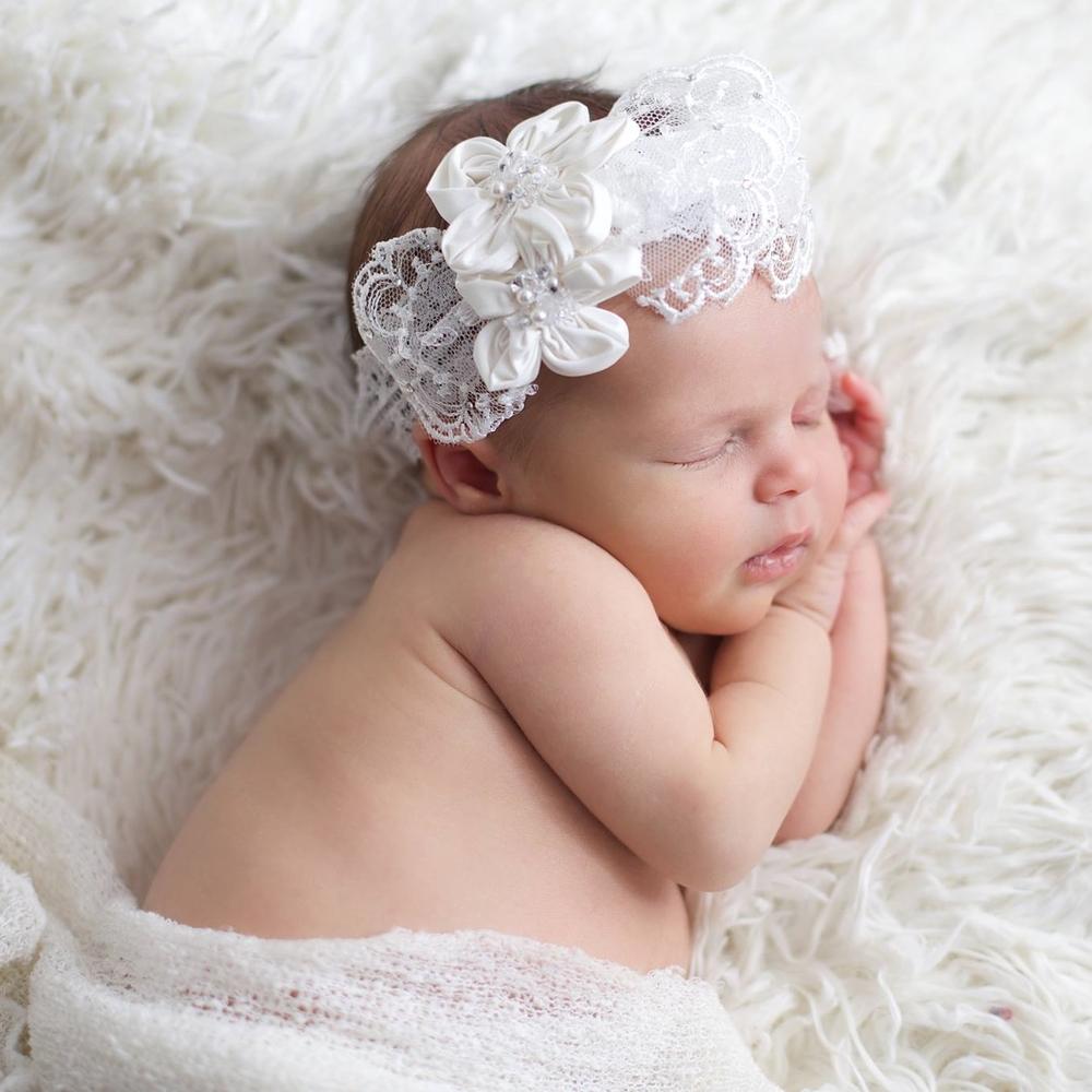 """Audrey"" Baby Headband"