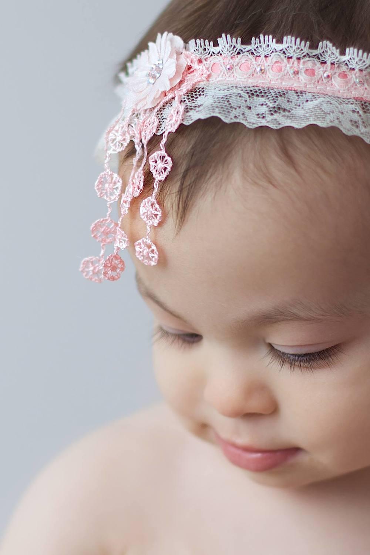 """Fringey"" Baby Headband"