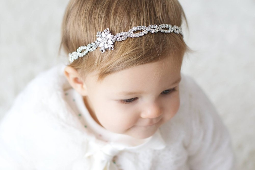 """Crystal Winter"" Headband"