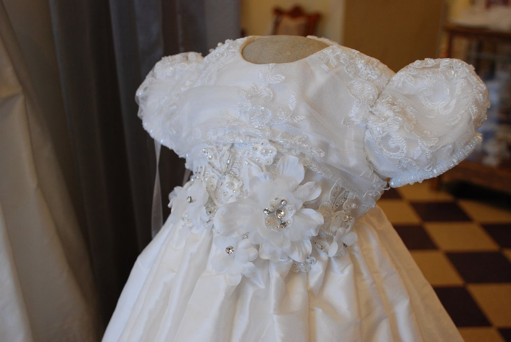 Christie Helene Lady Madonna Christening Gown