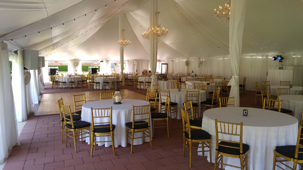 Basically beautiful! For those who know the Hunts the dance floor needs a major makeover.