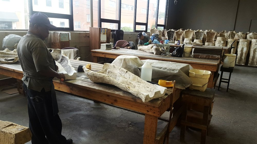 The dress form beginnings come from plaster cast molds. Some of the molds are nearly 100 years old.