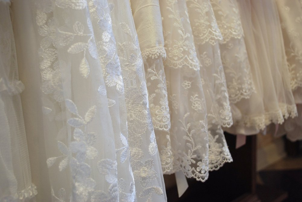Embroidered Lace Cotton Dresses