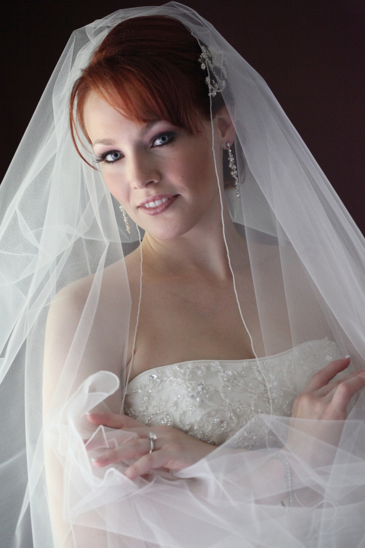 """Mele"" Bridal Veil"