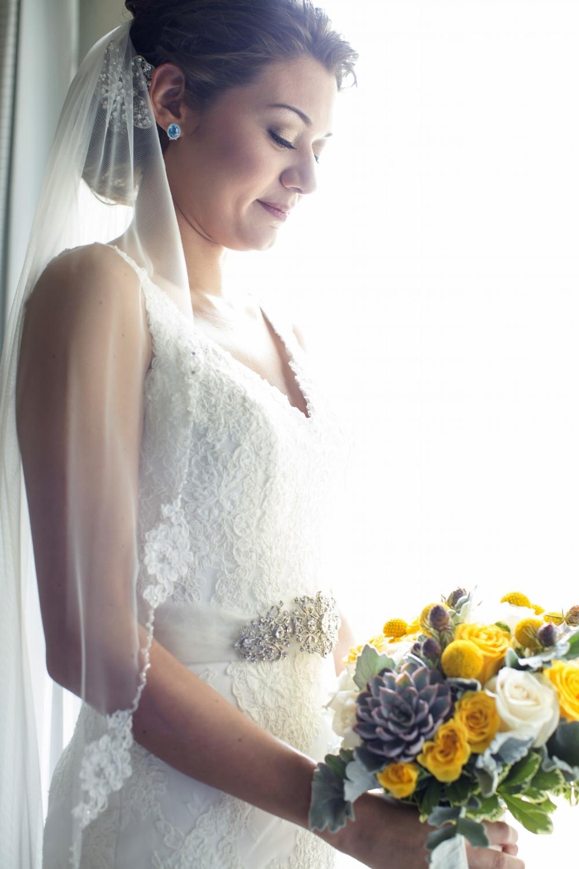 """""""Kate"""" Bridal Veil"""