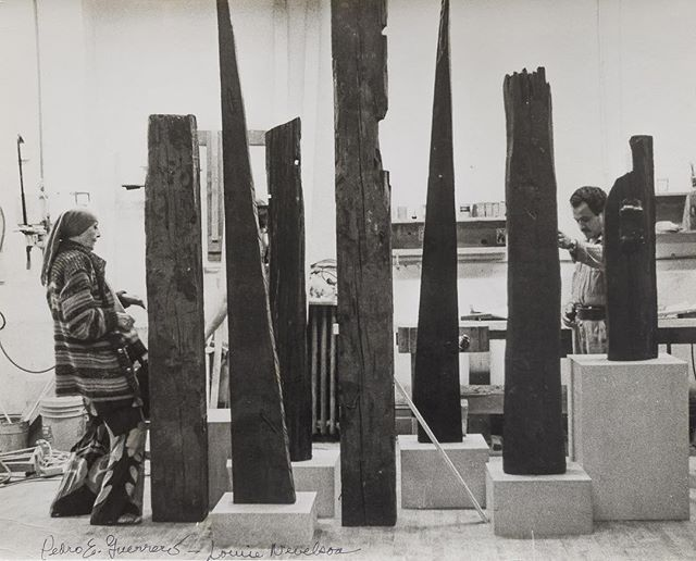 #louisenevelson is studio