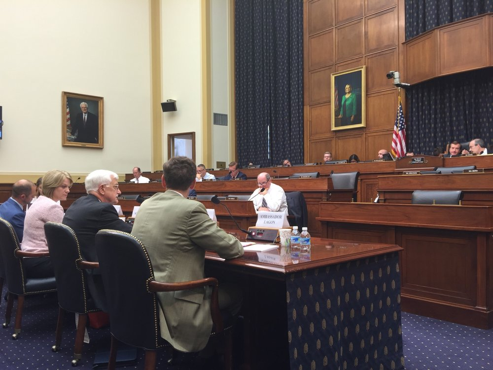 Witnesses respond to questions from HFAC members on human rights issues