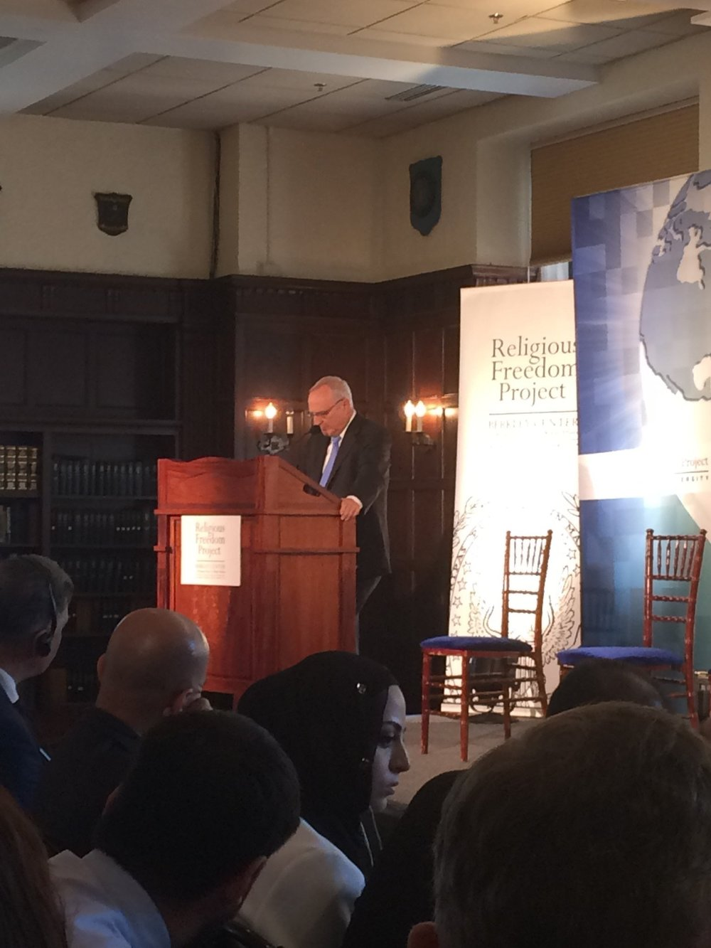 Ambassador David Saperstein, U.S. State Department, Ambassador-at-Large for International Religious Freedom