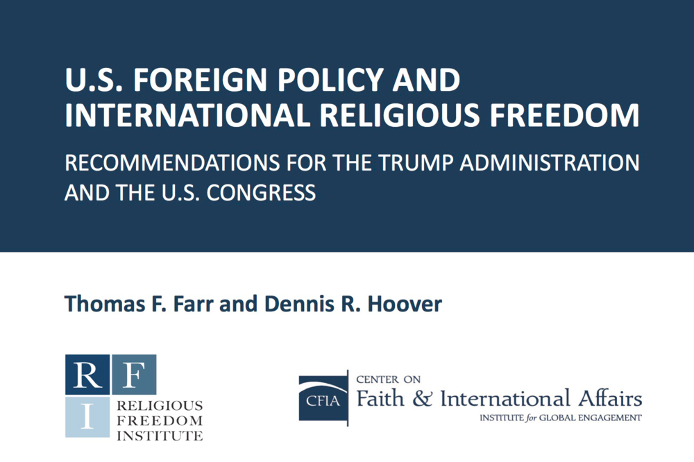 Policy Brief: International Religious Freedom and U.S. Foreign ...