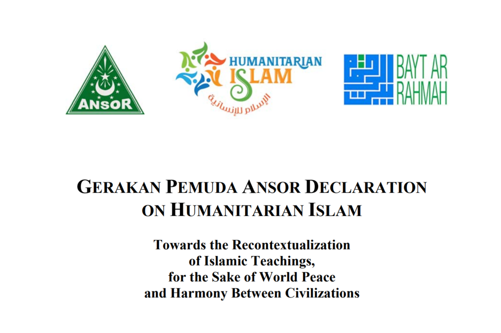 Ansor Declaration on Humanitarian Islam