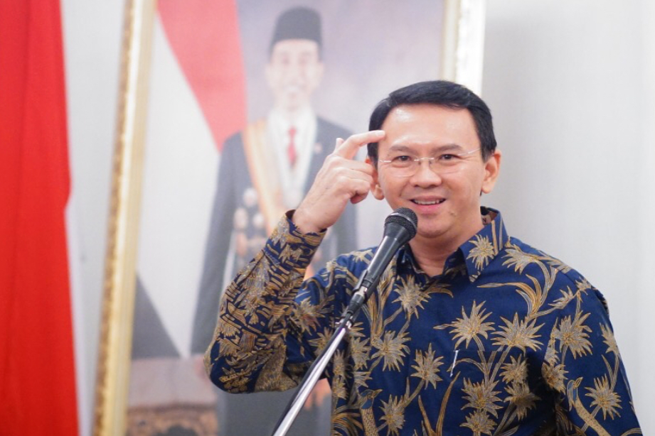 Basuki Tjahaja Purnama, Former Governor of Jakarta, was convicted in May 2017 for charges of blasphemy. Photo: Instagram/@basukibtp