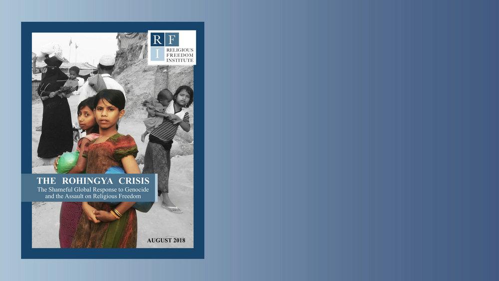 New Report: The Rohingya Crisis