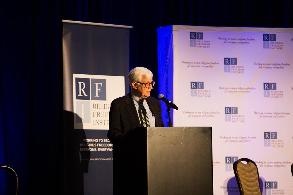 Thomas Farr, President, Religious Freedom Institute gives opening remarks. Photo: RFI/Margaret Wroblewski