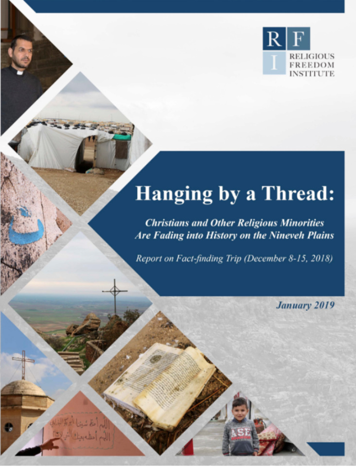Copy of RFI Report Highlights Critical Needs Religious Minority Communities in Iraq