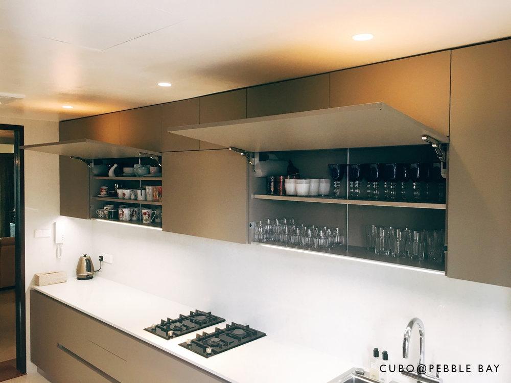 Pebblebay Wet Kitchen ServoFlapUp IMG_3494.jpg