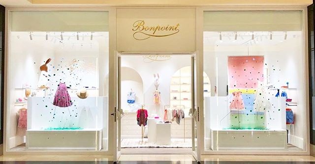 So proud for our new baby opening today at Golden Hall! 🍒@bonpoint_greece