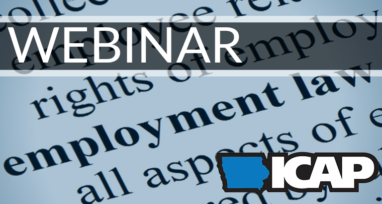 WEBINAR:   Rise of Employment Laws   February 20, 2019 | 12-1 PM