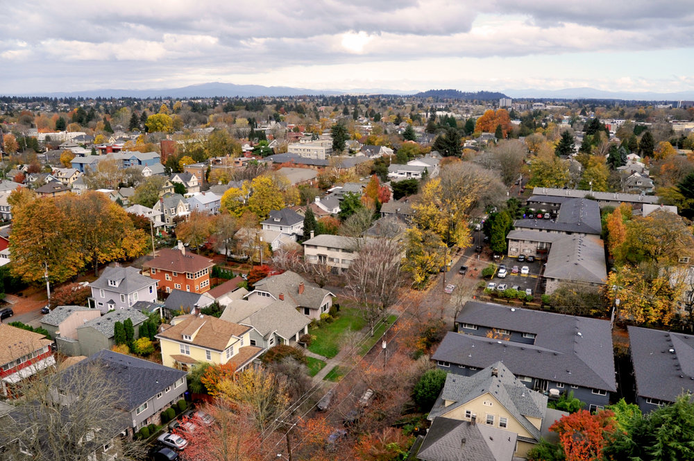 Green Infrastructure: Street trees provide multiple benefits such as cleaner air and water, cooler summer temperatures, safer streets, and increased property values.