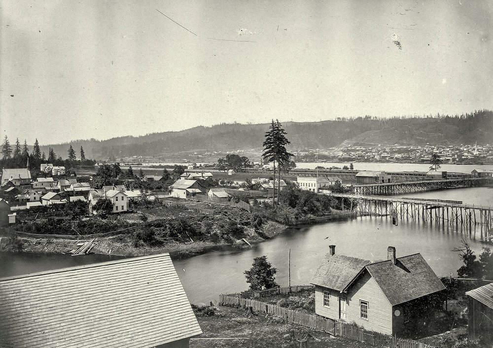 c.1884 Sullivan's Gulch flood OHS bb005650