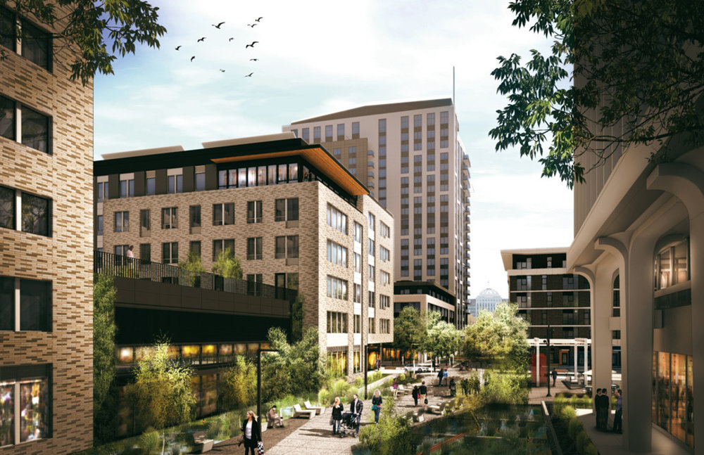 Developer: American Assets Trust. Architect GBD & Place, 657 apartments