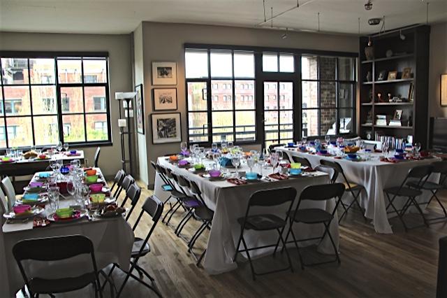 Annual Seder dinner