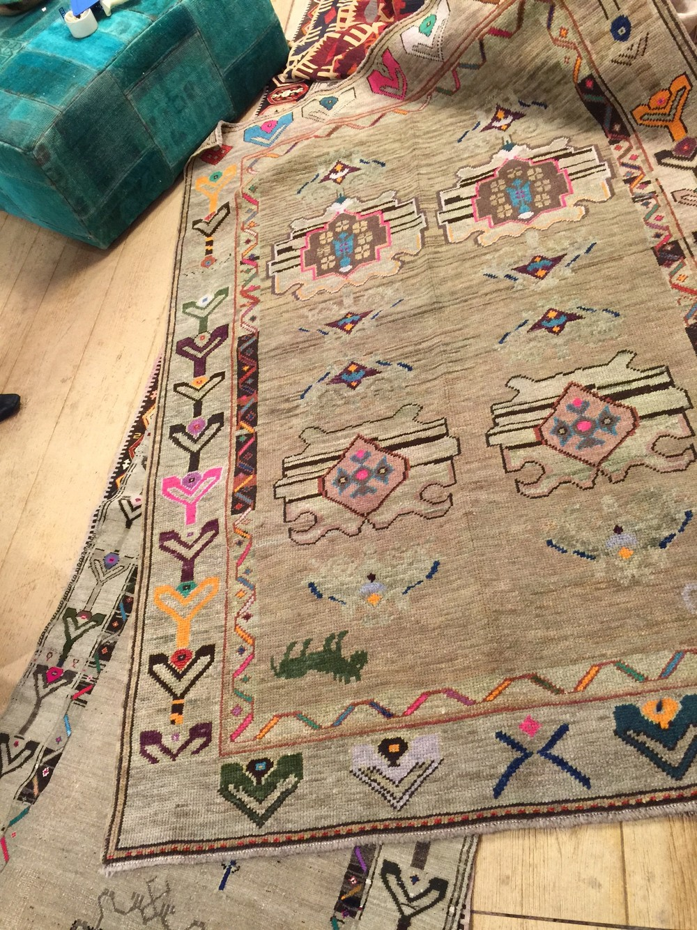 kilim rug from high point market 2015