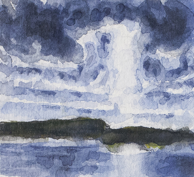 KARLJOHANSVERN OSLOFJORD 2013, 2 x 2.5 inches © 2016, Michael Kirk all rights reserved