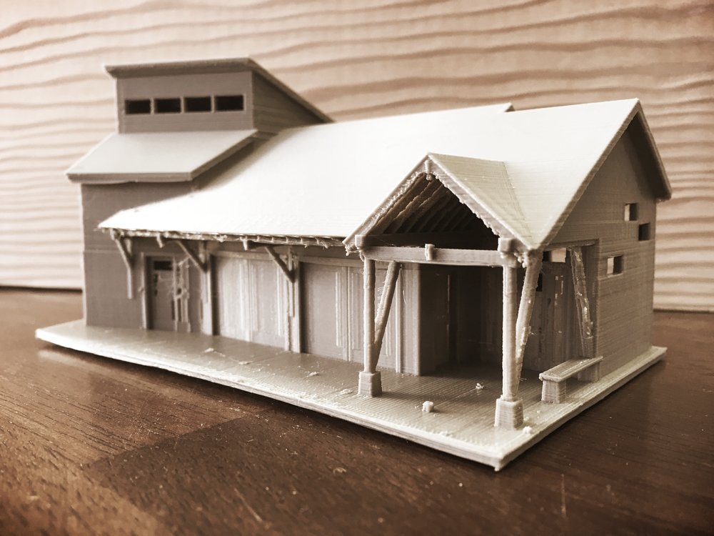 Turnagain Bluff 3d Print Model