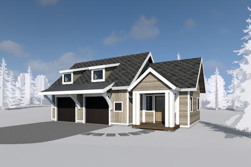 Large Carriage House Plans SD (Printed) — WILLIAM MERRIMAN ARCHITECTS