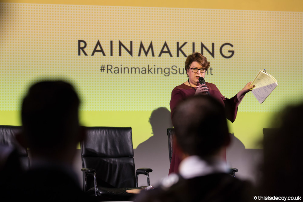 rainmaking summit fintech photography services london