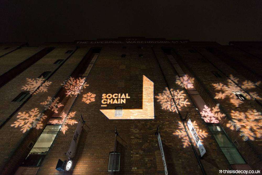social chain event branding
