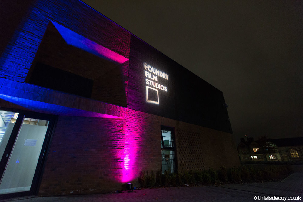 exterior of venue