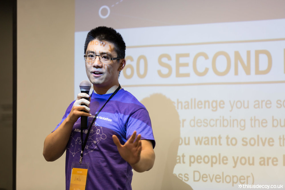 60 second pitch