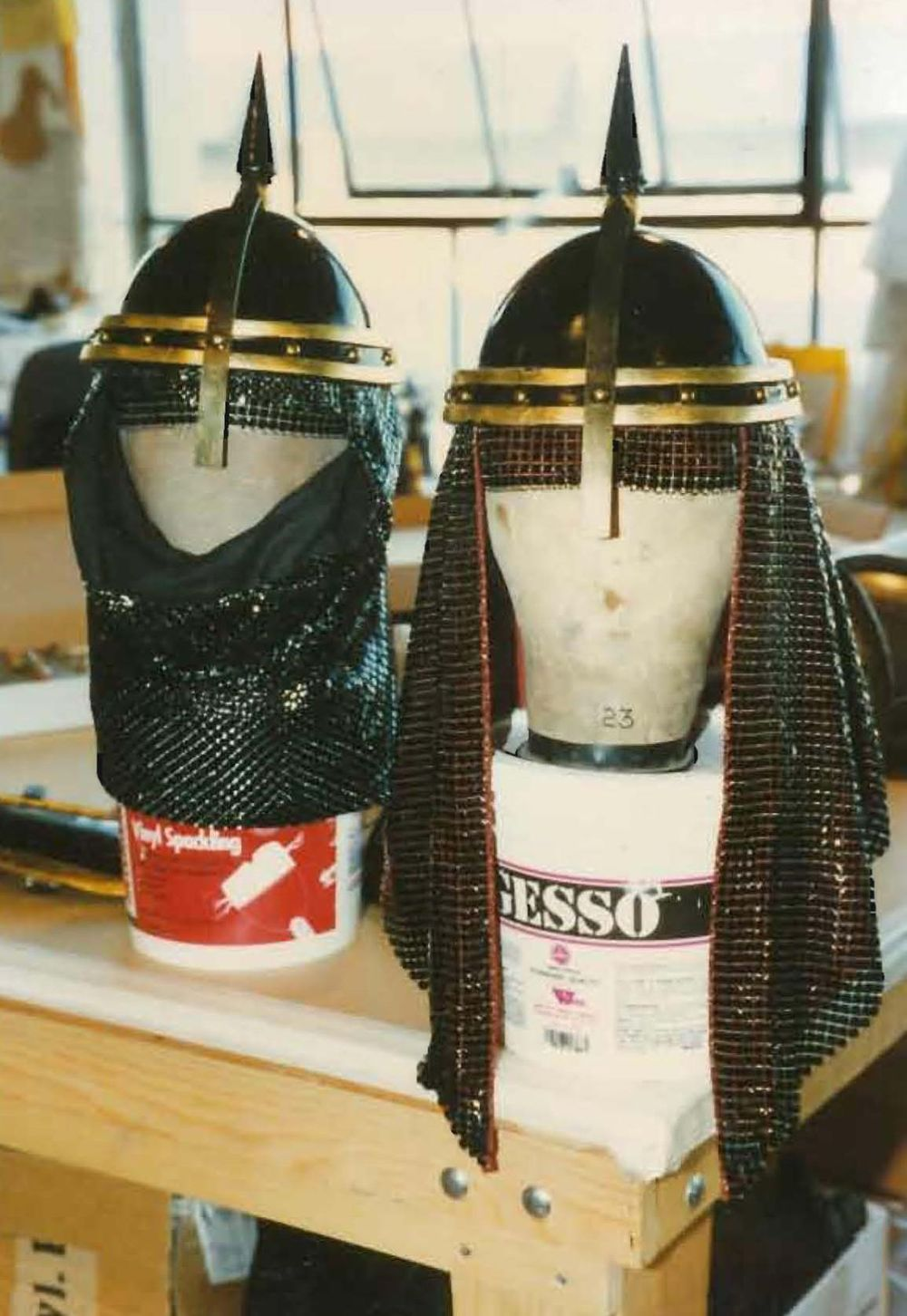 Helmets, Polotsvian Guards