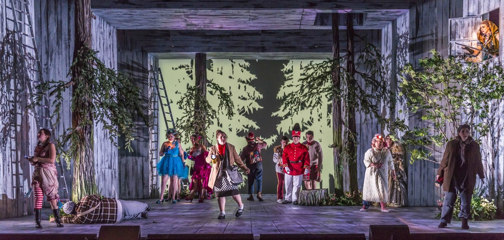 Into the Woods ensemble