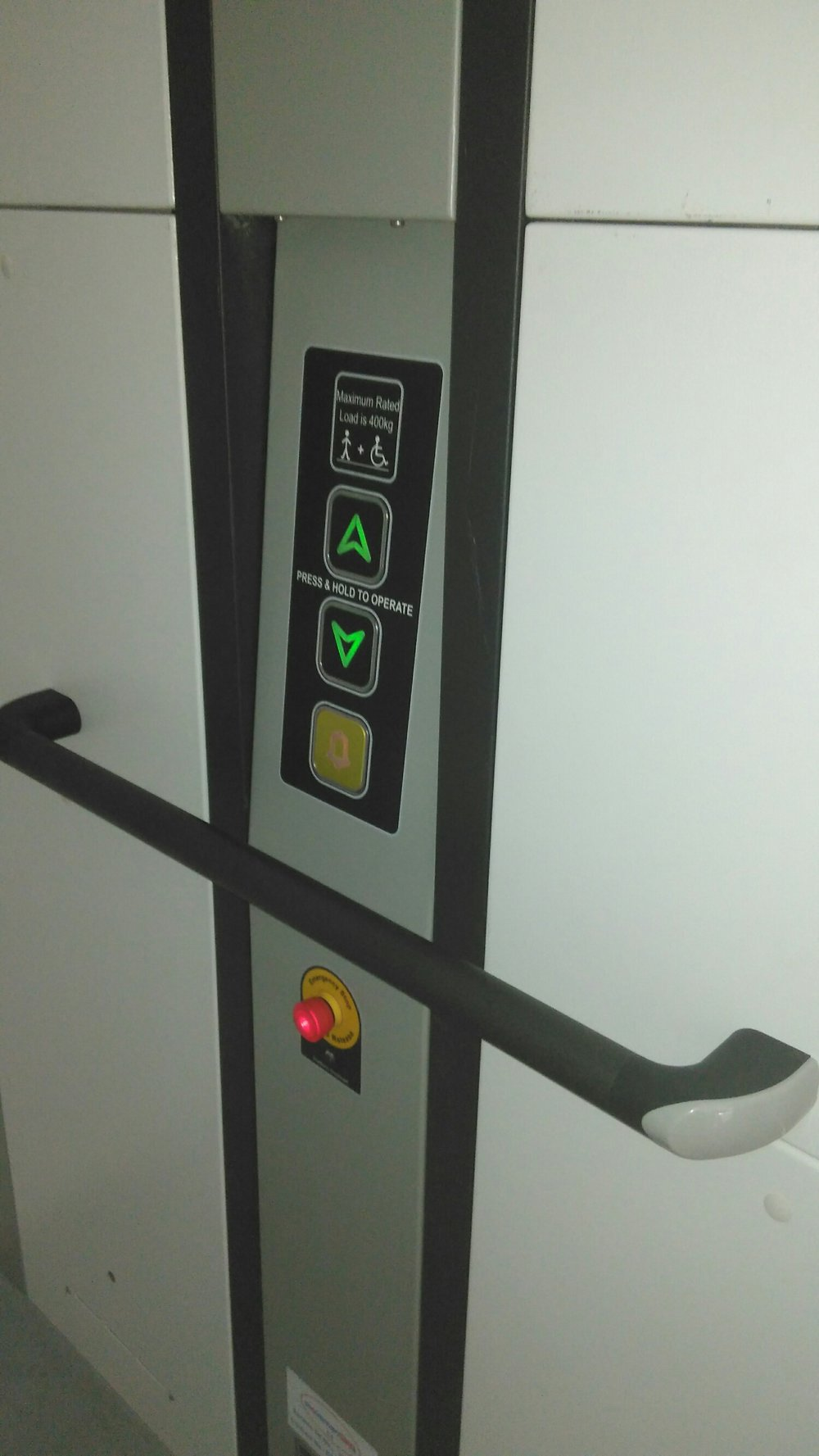 wessex lift installed by Kent Elevators and Platforms Ltd