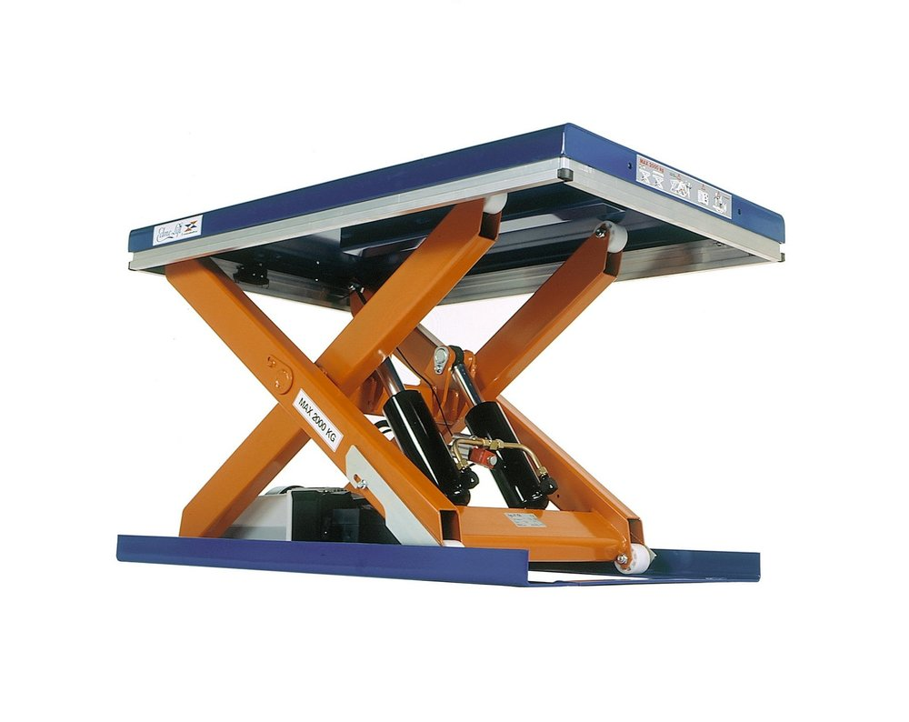 Lifting Tables - Lifting tables are devices that allow goods to lowered or raised into a safe working height. Commonly used in industrial processes - a lifting table also makes an ideal aid to many other applications. Examples of this could include pallet and roll cage handling, docking operations or even in dog grooming.All lifts sold meet the legal requirements (EN1570) when to be used as designed, these are not designed to be used for passengers. For transporting people, please visit our platform lifts page. For onsite setup, training and servicing agreement please contact us for more information.