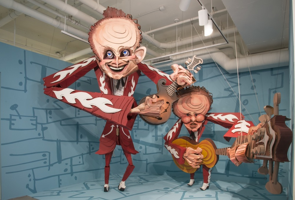 Louvin Brothers  Puppet Installation