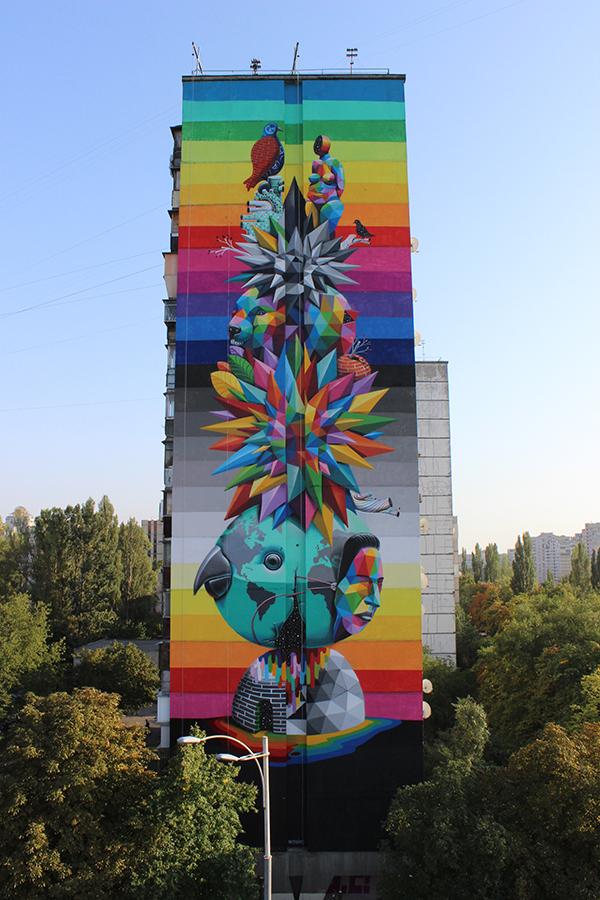 Kiev Mural