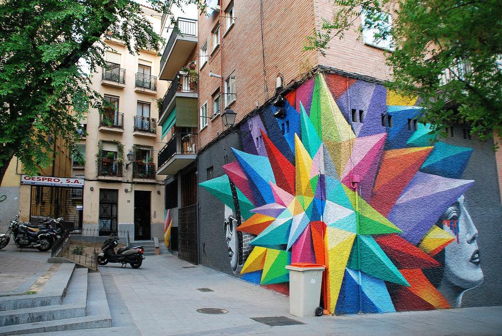 Madrid Mural  2014