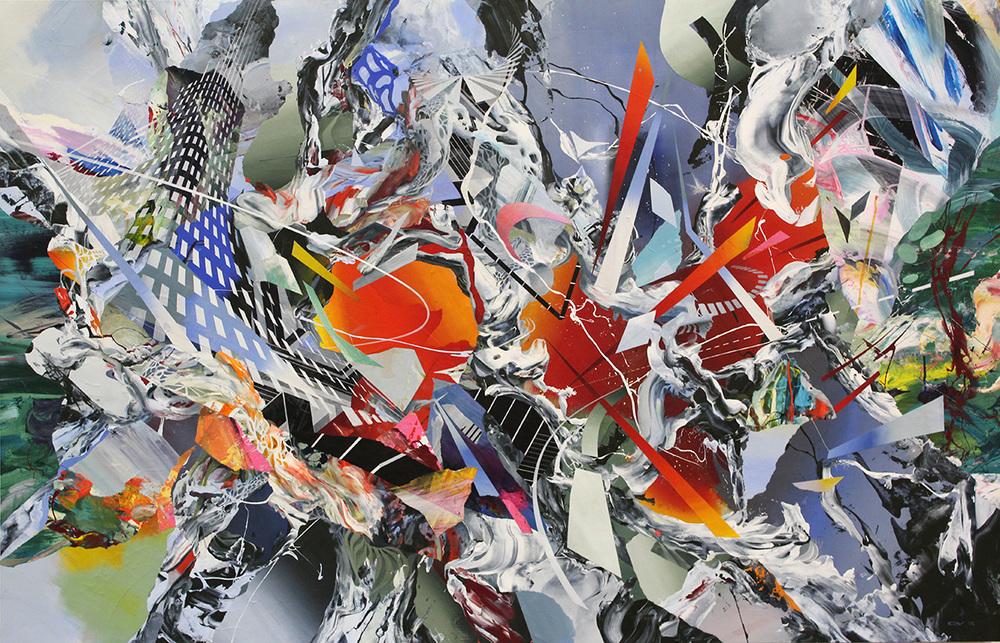 """Peripheral Gates 58x38""""2015"""