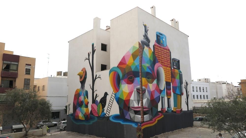 Festival Bloop Mural  Ibiza 2015