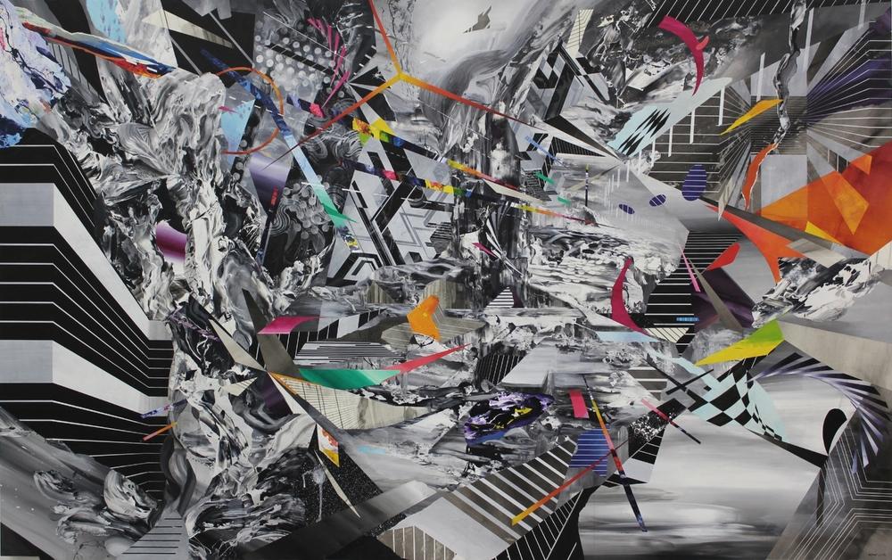 "Untitled  60x96""2015"