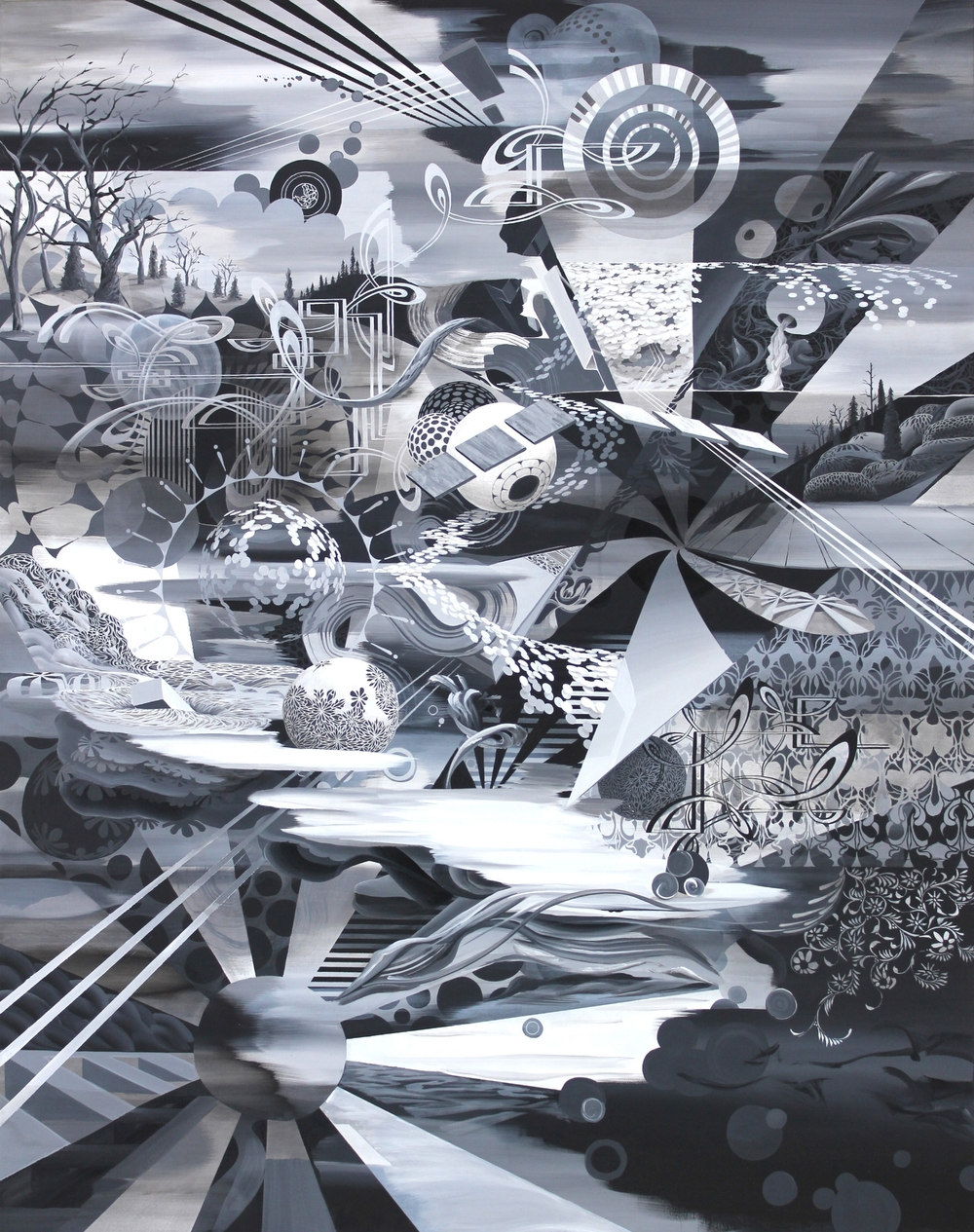"""Grey Matter 1 52x66""""2011-2012"""