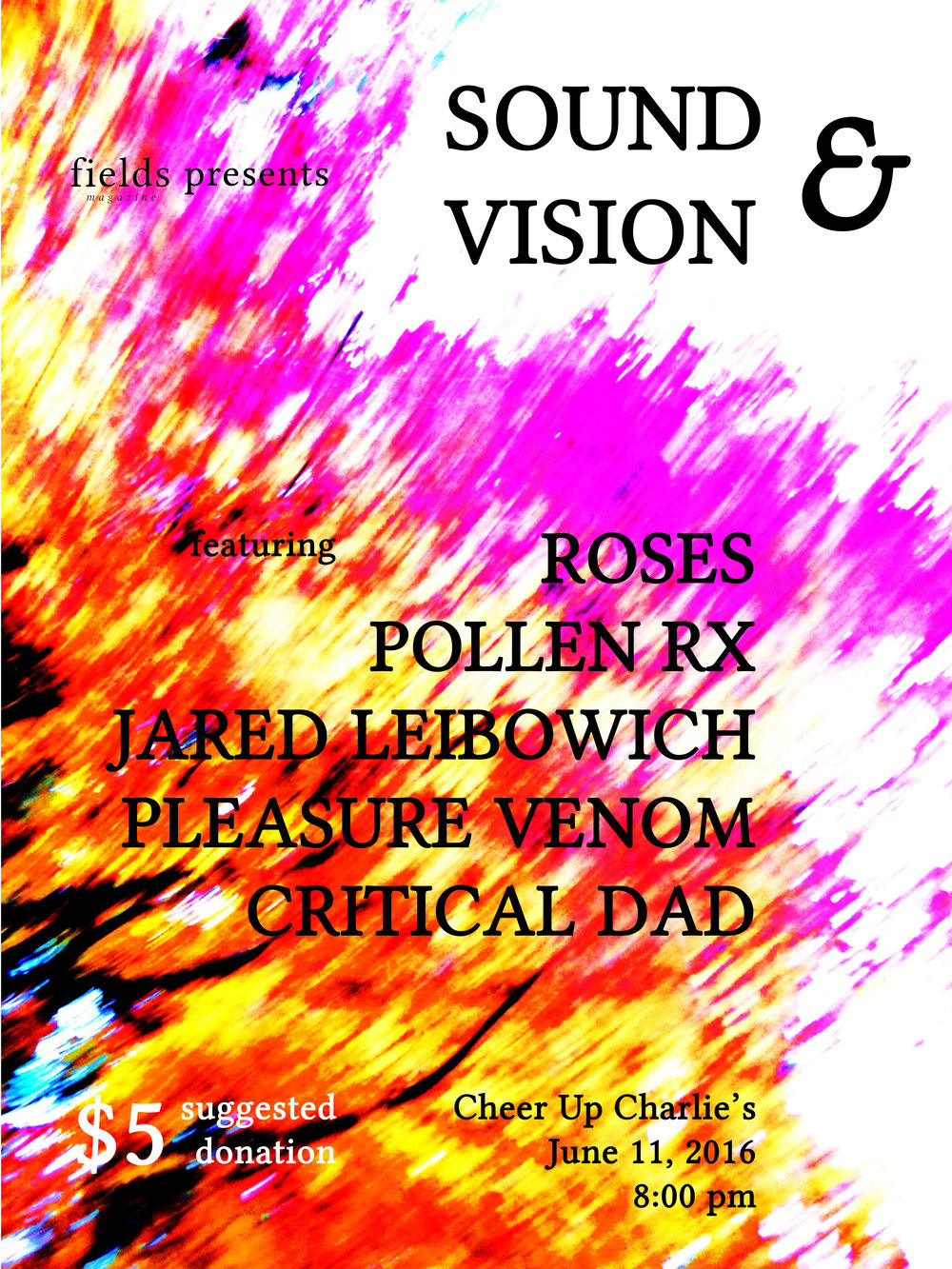 Sound & Vision poster