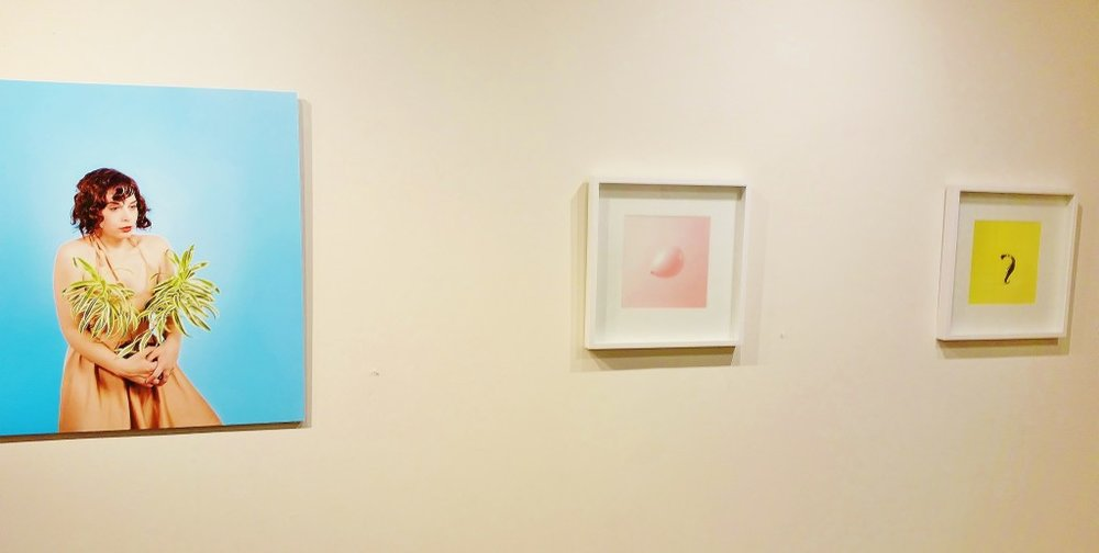 works by Kasumi Chow and Desiree Espada